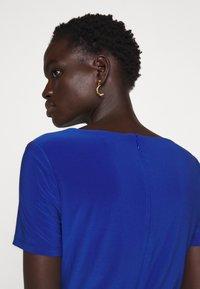 Lauren Ralph Lauren - BONDED DRESS BELT - Shift dress - summer sapphire - 4