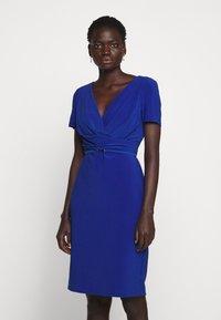 Lauren Ralph Lauren - BONDED DRESS BELT - Shift dress - summer sapphire - 0