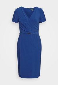 Lauren Ralph Lauren - BONDED DRESS BELT - Shift dress - summer sapphire - 5