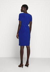 Lauren Ralph Lauren - BONDED DRESS BELT - Shift dress - summer sapphire - 2