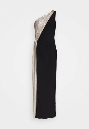 CLASSIC LONG GOWN  - Iltapuku - black/lannister gold