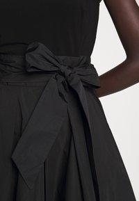 Lauren Ralph Lauren - MEMORY DRESS COMBO - Vestido de cóctel - black - 7