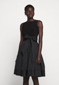 Lauren Ralph Lauren - MEMORY DRESS COMBO - Vestido de cóctel - black - 0