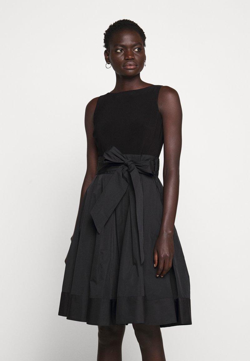 Lauren Ralph Lauren - MEMORY DRESS COMBO - Vestido de cóctel - black
