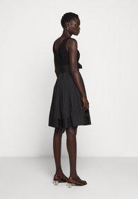 Lauren Ralph Lauren - MEMORY DRESS COMBO - Vestido de cóctel - black - 2