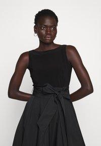 Lauren Ralph Lauren - MEMORY DRESS COMBO - Vestido de cóctel - black - 5