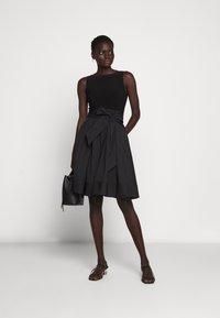 Lauren Ralph Lauren - MEMORY DRESS COMBO - Vestido de cóctel - black - 1
