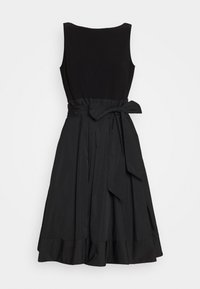 Lauren Ralph Lauren - MEMORY DRESS COMBO - Vestito elegante - black - 0