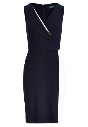 LAUREN RALPH LAUREN DAMEN COCKTAILKLEID - Shift dress - dark blue