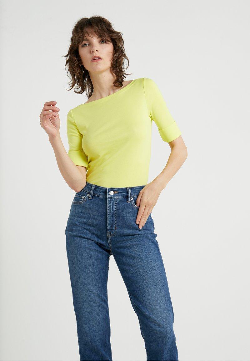Lauren Ralph Lauren - JUDY ELBOW SLEEVE - T-shirts - gustavia sun