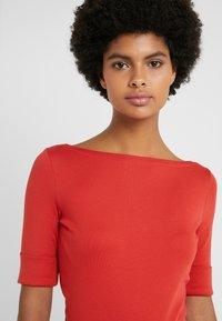 Lauren Ralph Lauren - JUDY ELBOW SLEEVE - T-shirts - canyon red - 4
