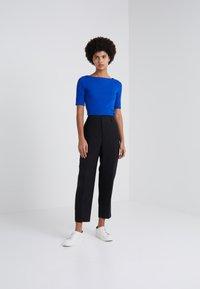 Lauren Ralph Lauren - JUDY ELBOW SLEEVE - T-shirts - blue ocean - 1
