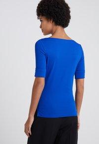 Lauren Ralph Lauren - JUDY ELBOW SLEEVE - T-shirts - blue ocean - 2