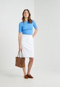 Lauren Ralph Lauren - JUDY ELBOW SLEEVE - T-shirts - eos blue - 1