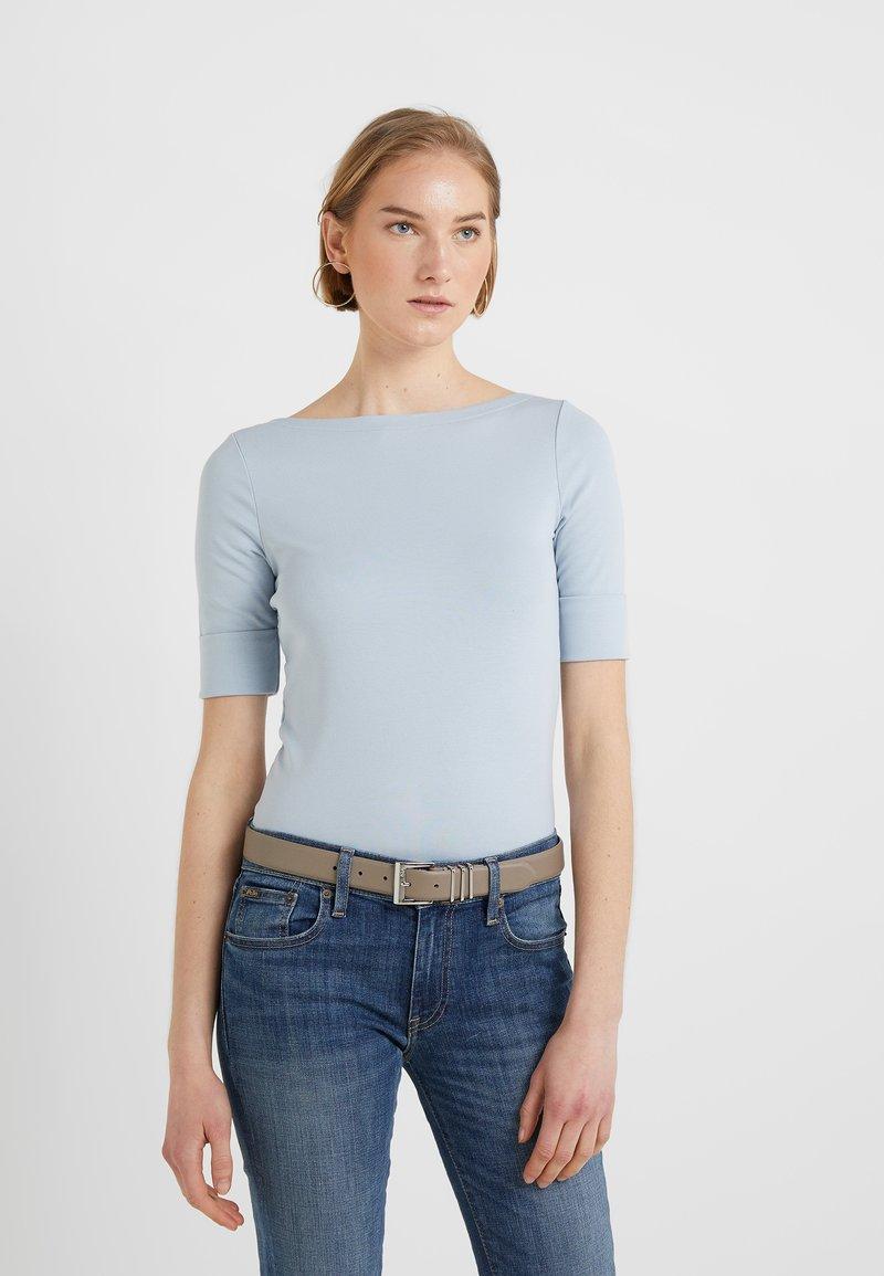 Lauren Ralph Lauren - JUDY ELBOW SLEEVE - T-shirts basic - english blue