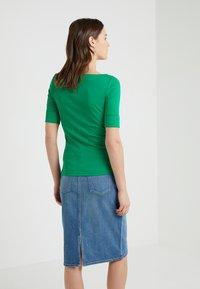 Lauren Ralph Lauren - JUDY ELBOW SLEEVE - Jednoduché triko - cambridge green - 2