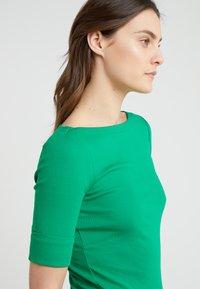 Lauren Ralph Lauren - JUDY ELBOW SLEEVE - Jednoduché triko - cambridge green - 4