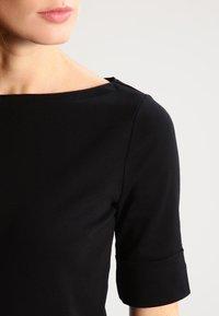 Lauren Ralph Lauren - JUDY ELBOW SLEEVE - T-shirts - black - 3