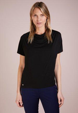 Basic T-shirt - polo black