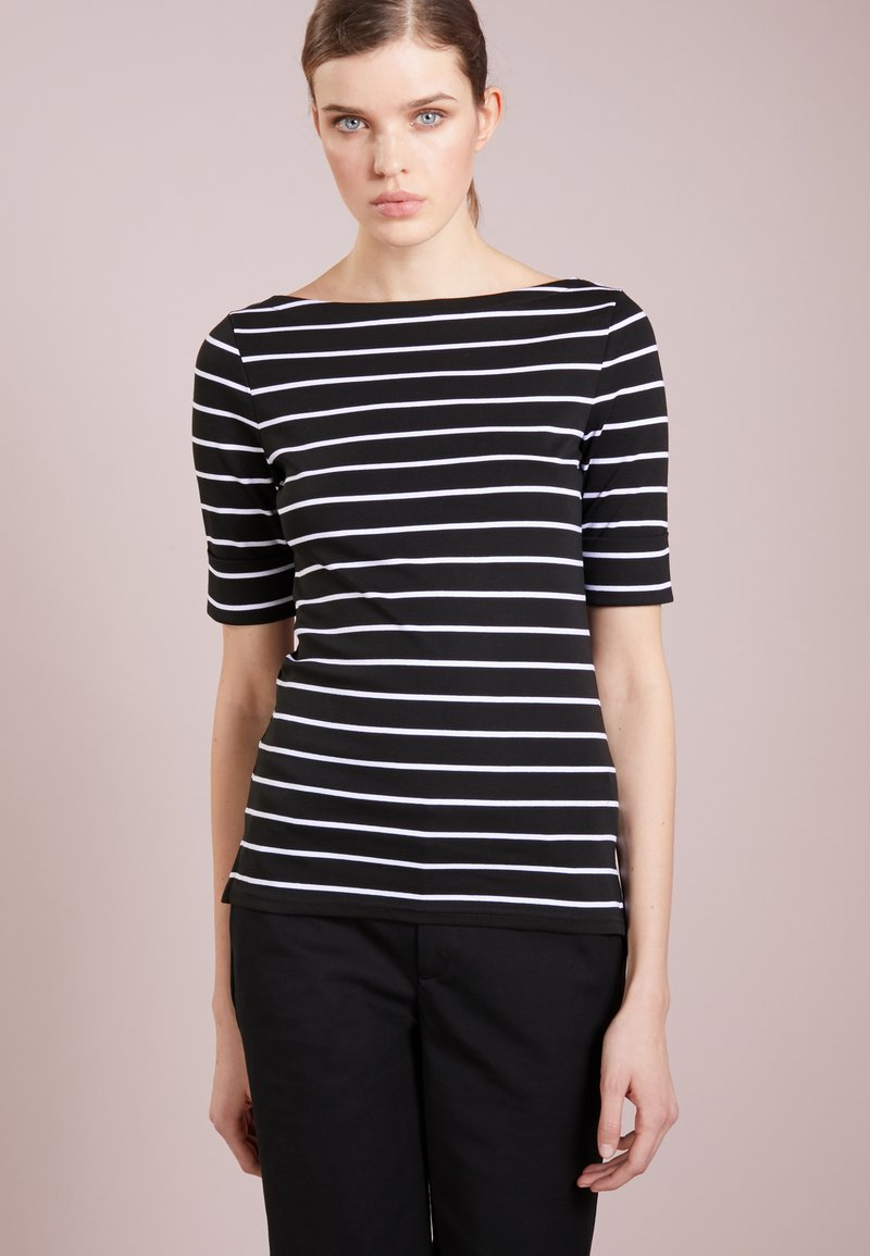 Lauren Ralph Lauren - T-shirt basique - black/white