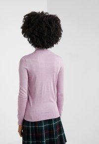 Lauren Ralph Lauren - CASH PLUS TURTLENECK - Svetr - pink hyacinth - 2