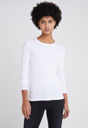 CREWNECK - Bluzka z długim rękawem - white