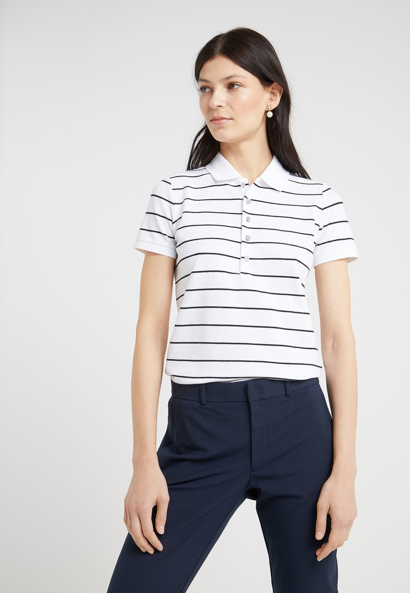 Lauren Ralph Lauren - KIEWICK - Poloshirt - white/black