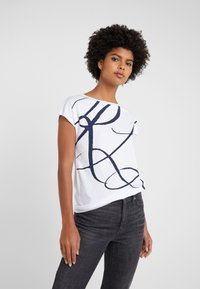 Lauren Ralph Lauren - UPTOWN - Print T-shirt - white - 0