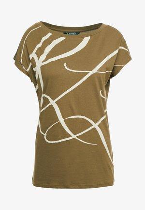 UPTOWN - T-shirt imprimé - explorer olive