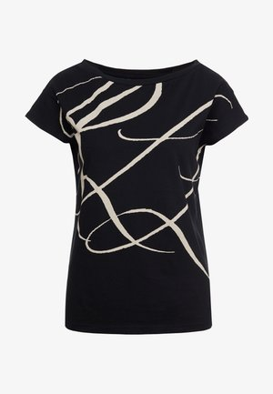 UPTOWN - T-shirt imprimé - black