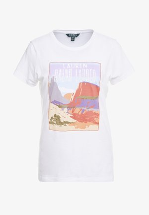 UPTOWN GRAPHIC - T-shirts med print - white