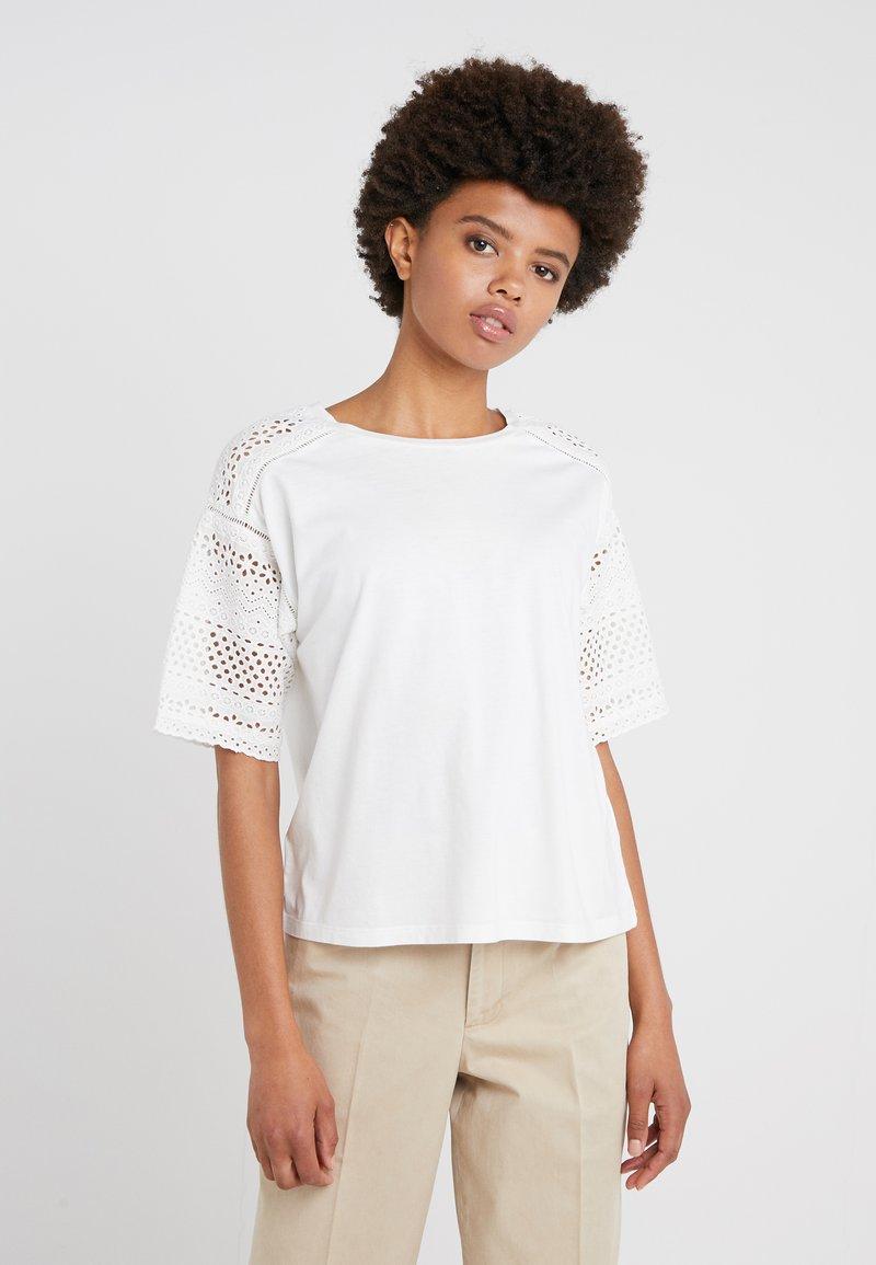 Lauren Ralph Lauren - UPTOWN - T-shirt z nadrukiem - white