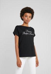 Lauren Ralph Lauren - SPORT - Print T-shirt - black - 0