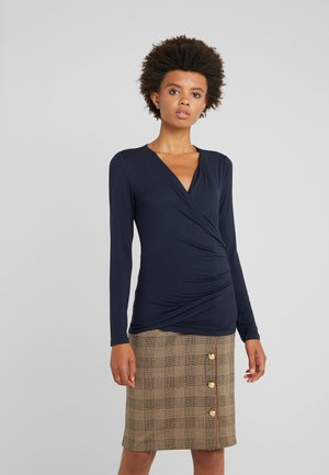 CHIC VIS TOP - Long sleeved top - navy