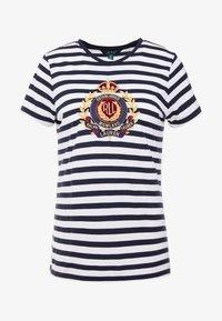 Lauren Ralph Lauren - UPTOWN  - Print T-shirt - lauren navy/white - 4