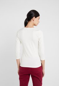 Lauren Ralph Lauren - Maglietta a manica lunga - mascarpone cream - 2
