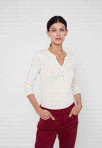 Lauren Ralph Lauren - Maglietta a manica lunga - mascarpone cream - 0