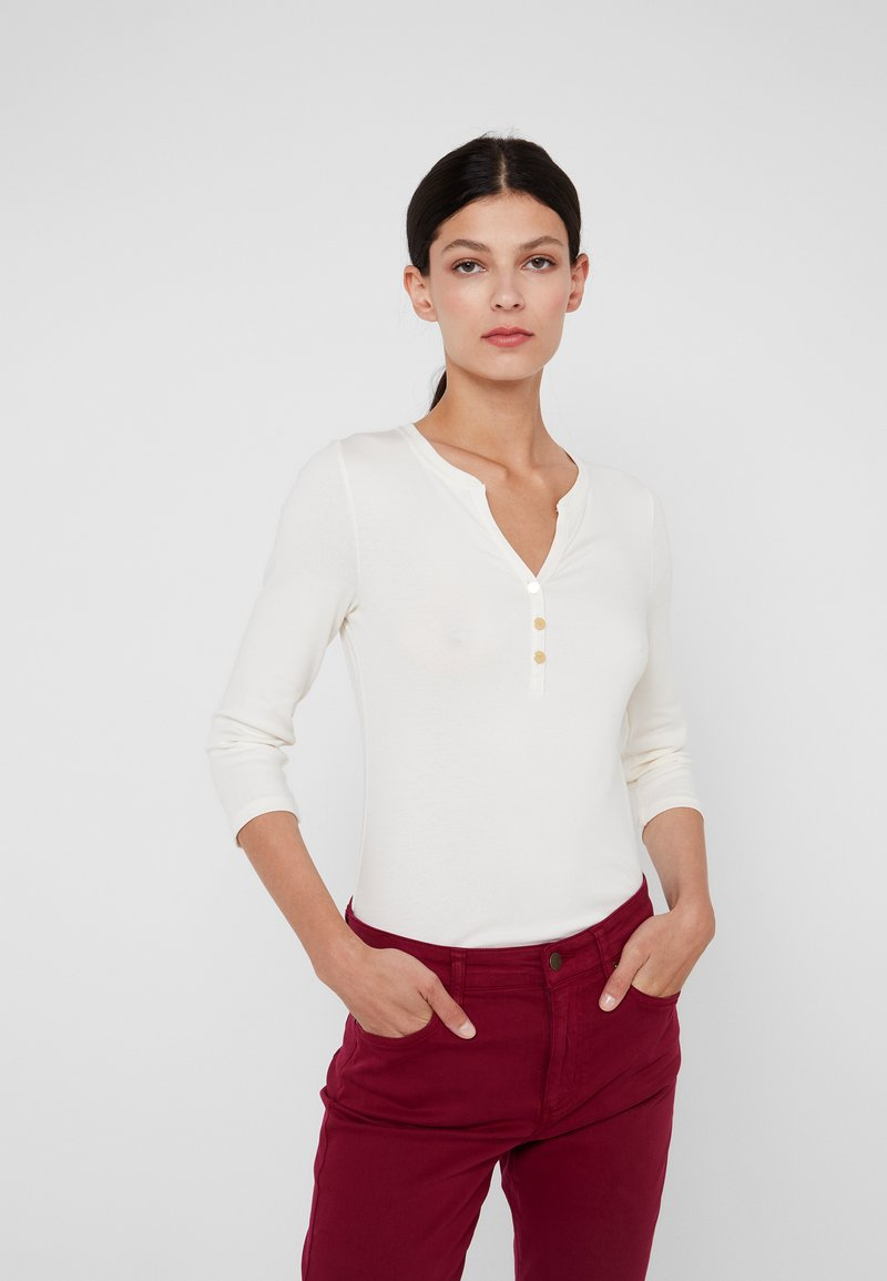 Lauren Ralph Lauren - Maglietta a manica lunga - mascarpone cream