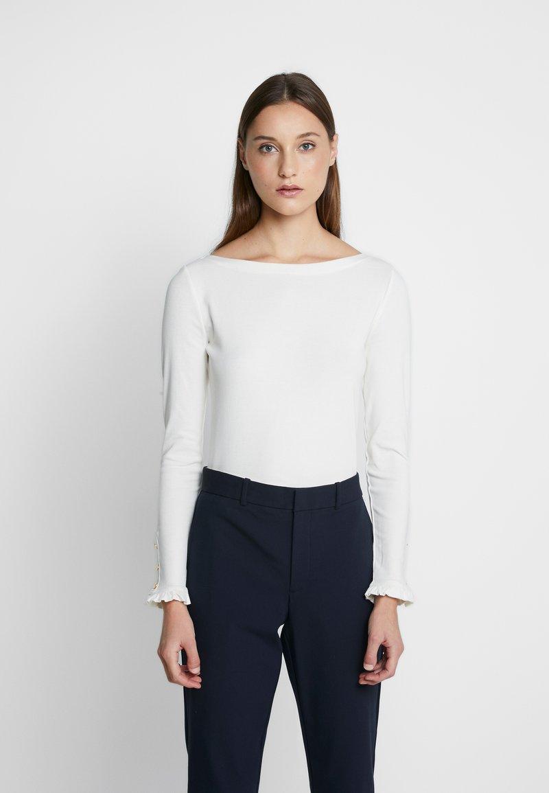 Lauren Ralph Lauren - Long sleeved top - mascarpone cream