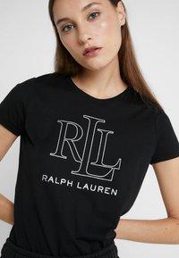 Lauren Ralph Lauren - T-shirts print - black - 4