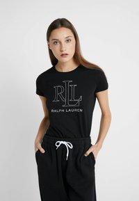 Lauren Ralph Lauren - T-shirts print - black - 0