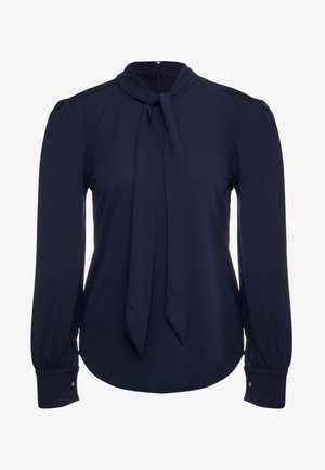 MATTE  - Button-down blouse - navy