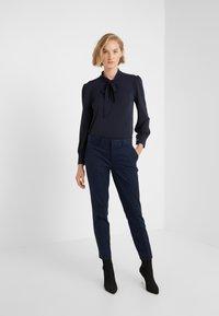 Lauren Ralph Lauren - MATTE  - Button-down blouse - navy - 1