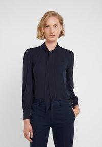 Lauren Ralph Lauren - MATTE  - Button-down blouse - navy - 0
