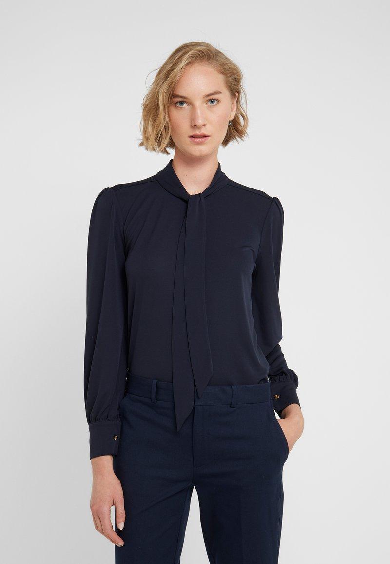 Lauren Ralph Lauren - MATTE  - Button-down blouse - navy