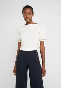 Lauren Ralph Lauren - T-shirt imprimé - mascarpone cream - 0
