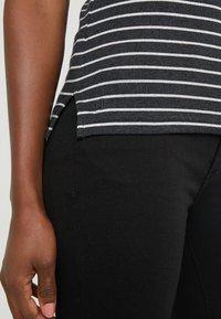 Lauren Ralph Lauren - T-shirts med print - madison grey heather - 5