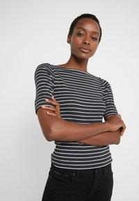 Lauren Ralph Lauren - T-shirts med print - madison grey heather - 3