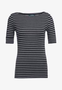 Lauren Ralph Lauren - T-shirts med print - madison grey heather - 4