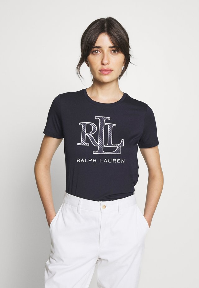 PIMA MICRO  - T-shirt con stampa - navy